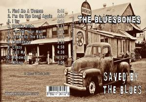 The Bluesbones: Saved By The Blues - Cover