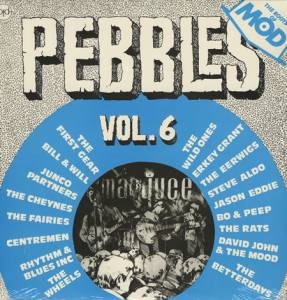 Cover - Steve Aldo: Pebbles Vol. 6