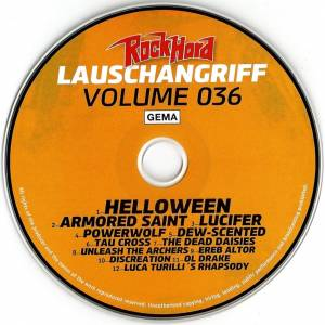 Rock Hard - Lauschangriff Vol. 036 (CD) - Bild 3