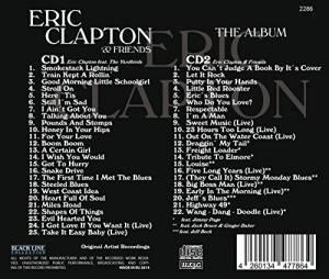 eric clapton friends the album 2 cd 2014 digipak. Black Bedroom Furniture Sets. Home Design Ideas