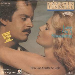 Cover - Captain & Tennille: Love On A Shoestring