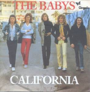 Cover - Babys, The: California