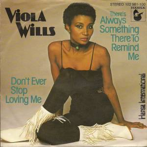 Cover - Viola Wills: There's Always Something There To Remind Me