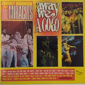Cover - Smokey Robinson & The Miracles: Away We A Gogo