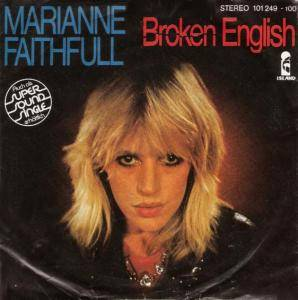 Marianne Faithfull: Broken English - Cover
