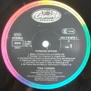 Tina Turner: Foreign Affair (LP) - Bild 8