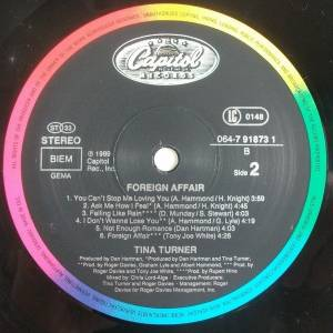 Tina Turner: Foreign Affair (LP) - Bild 9