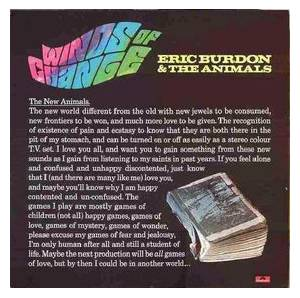 Eric Burdon & The Animals: Winds Of Change - Cover