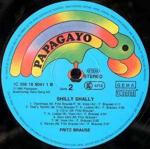 Fritz Brause: Shilly Shally (LP) - Bild 4
