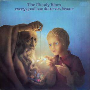 The Moody Blues: Every Good Boy Deserves Favour - Cover