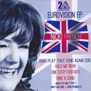 Cover - Nicki French: Eurovision EP