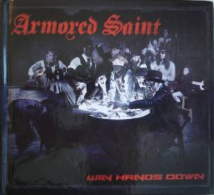 Armored Saint: Win Hands Down - Cover