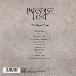 Paradise Lost: The Plague Within (CD) - Bild 2