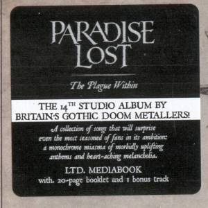 Paradise Lost: The Plague Within (CD) - Bild 4