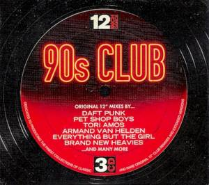 Cover - K-Klass: 12 Inch Dance - 90s Club