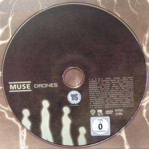 Muse Drones 2 Lp Cd Dvd 2015 Limited Edition