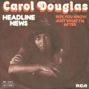 Cover - Carol Douglas: Headline News