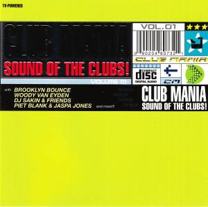 Cover - Kay Cee: Club Mania Sound Of The Clubs! Vol.01