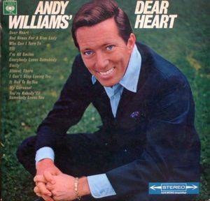 Cover - Andy Williams: Andy Williams' Dear Heart