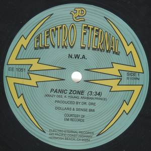 Cover - N.W.A: Panic Zone