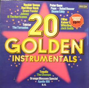 Cover - Jet Harris & Tony Meehan: 20 Golden Instrumentals