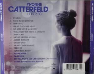Lieber So Yvonne Catterfeld Lyrics