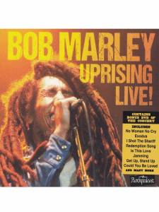 Cover - Bob Marley: Uprising Live!