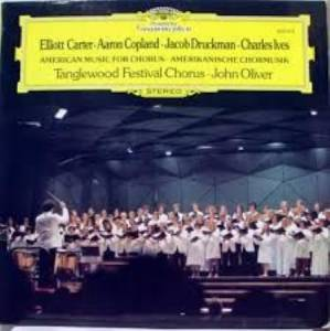 Cover - Aaron Copland: American Music For Chorus - Amerikanische Chormusik