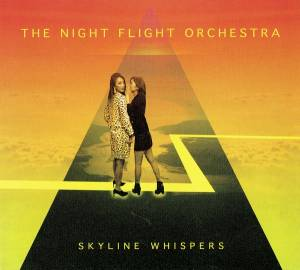 Cover - Night Flight Orchestra, The: Skyline Whispers