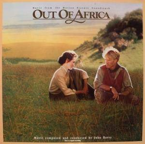 John Barry: Out Of Africa - Cover