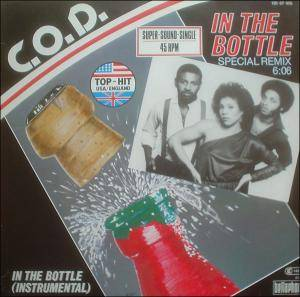 C.O.D.: In The Bottle - Cover
