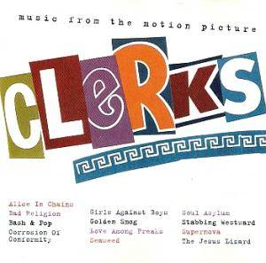 Clerks - Music From The Motion Picture - Cover