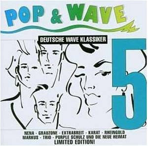 Pop & Wave - Deutsche Wave Klassiker Vol. 5 - Cover