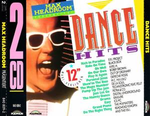 Cover - Out Of The Ordinary: Dance Hits - Max Headroom Presents