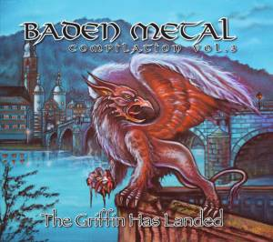 Cover - Lyfthrasyr: Baden Metal Compilation Vol. 3 - The Griffin Has Landed