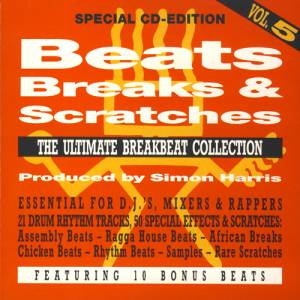 Cover - Simon Harris: Beats, Breaks & Scratches - Vol. 5