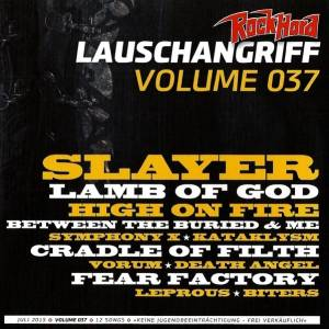 Rock Hard - Lauschangriff Vol. 037 (CD) - Bild 1