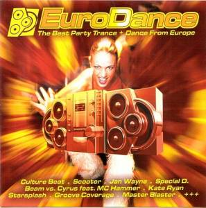 Cover - Trance Angel: Eurodance (Warner)