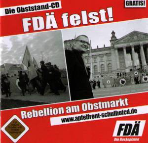 Cover - Skatoons, The: Apfelfront - Obststand CD