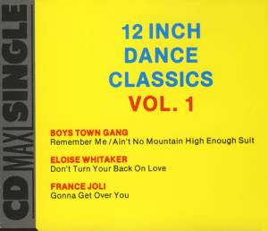 Cover - France Joli: 12 Inch Dance Classics Vol. 1