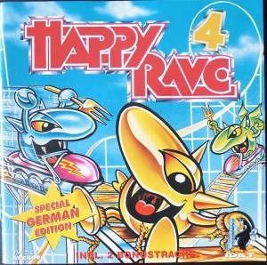 Happy Rave 4 - Cover