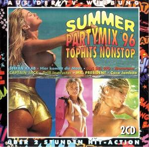 Summer Partymix '96 Tophits Nonstop - Cover