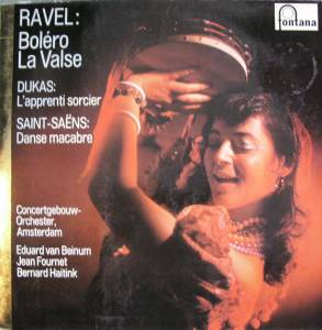 Cover - Maurice Ravel: Boléro La Valse