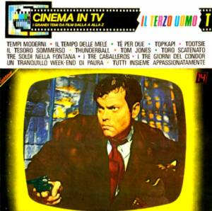"Cover - Frank Chacksfield & His Orchestra: Cinema In TV - Vol. 14 ""Il Terzo Uomo"""