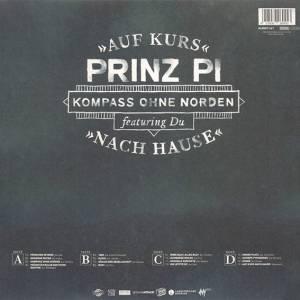 """Prinz Pi: Kompass Ohne Norden - """"Auf Kurs Nach Hause"""" (2-LP + CD) - Bild 2"""