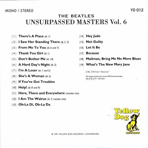 beatles unsurpassed masters vol 8
