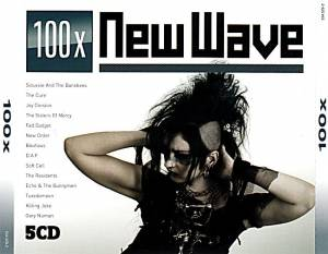 Cover - Lene Lovich: 100x New Wave