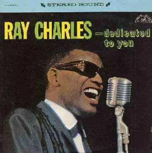 Cover - Ray Charles: Dedicated To You