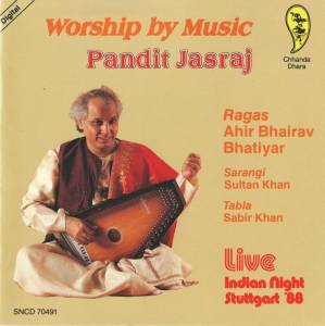 Cover - Jasraj: Worship By Music