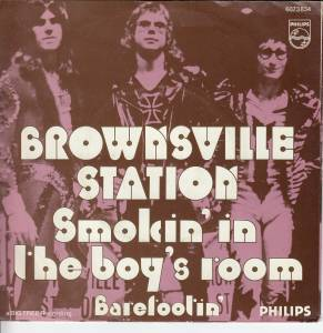Cover - Brownsville Station: Smokin' In The Boy's Room